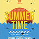 Summer Time Party Flyer Template - GraphicRiver Item for Sale