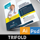 Medical Trifold - GraphicRiver Item for Sale