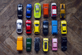 assorted colorful car collection on floor - PhotoDune Item for Sale