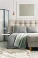 Grey cozy room