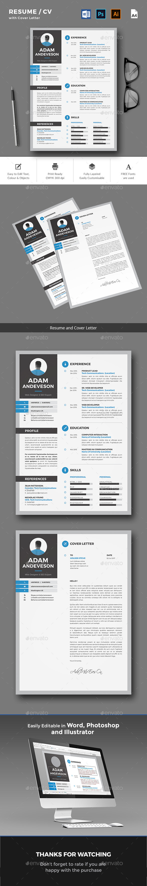 Resume / CV - Resumes Stationery