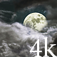 Dark Clouds Moon - VideoHive Item for Sale