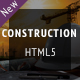 Construction - Industrial Responsive HTML5 Template