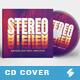 Stereo - CD Cover Artwork Template
