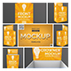Store Palette with Crowner Mockup - GraphicRiver Item for Sale