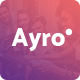 Ayro - A Fresh Theme for Tech and Digital Businesses - ThemeForest Item for Sale