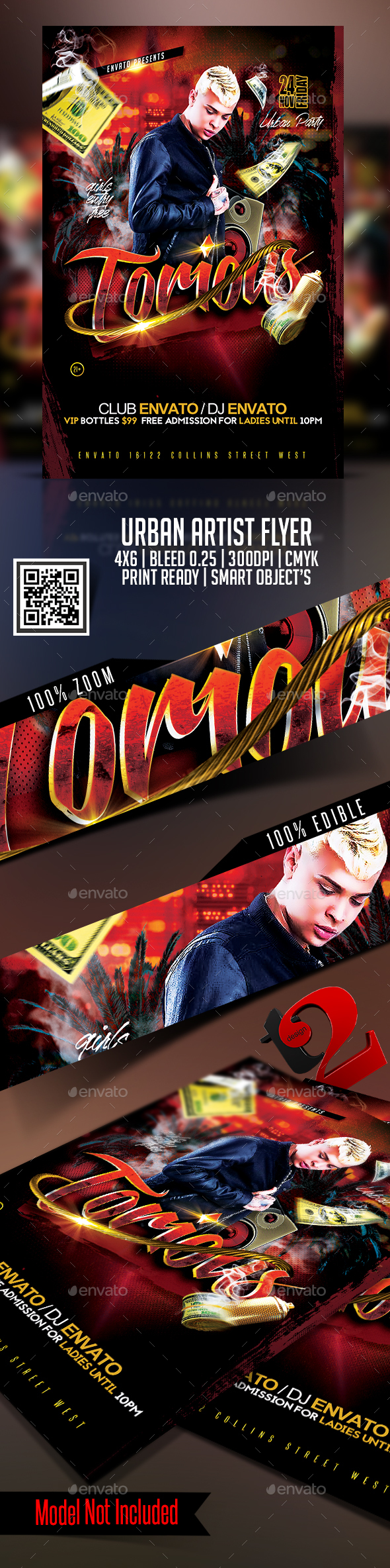 Urban Artist Flyer Template