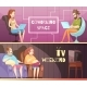 Sedentary Lifestyle Retro Cartoon Banners