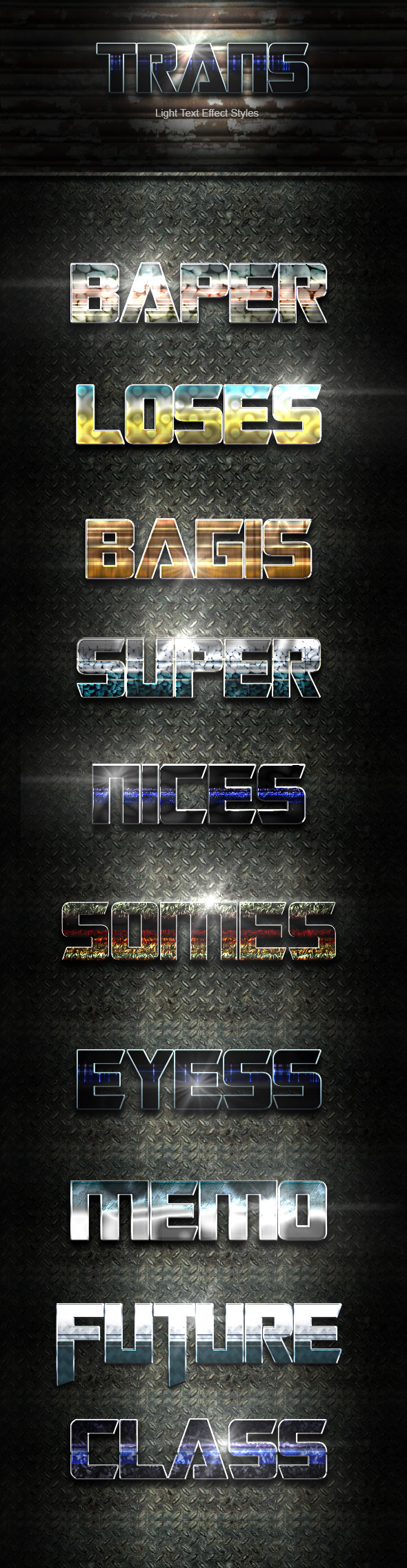 Trans Text Effect V47 - Text Effects Actions