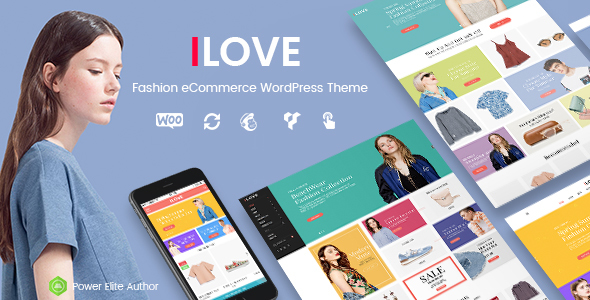 iLove - Creative Fashion WooCommerce WordPress Theme (Mobile Layouts Included) - WooCommerce eCommerce