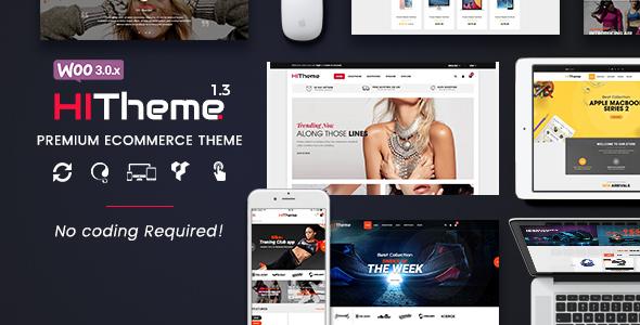 HiTheme - Most Customizable WooCommerce WordPress Theme - WooCommerce eCommerce