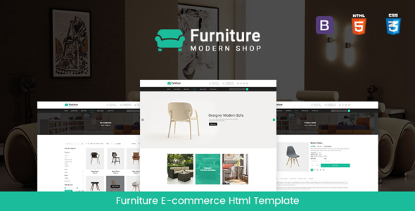 Furniturecraft - Multipurpose Ecommerce Responsive Html5 template - Shopping Retail