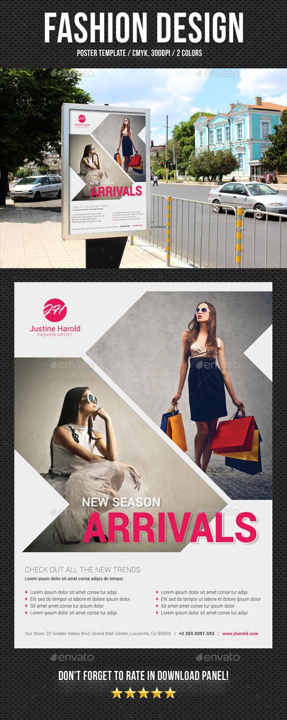 Fashion Poster 10 - Signage Print Templates