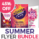 Summer Party Flyer Bundle set 01