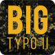 Big Typo II - VideoHive Item for Sale