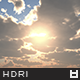 High Resolution Sky HDRi Map 093