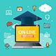 Education Online Concept