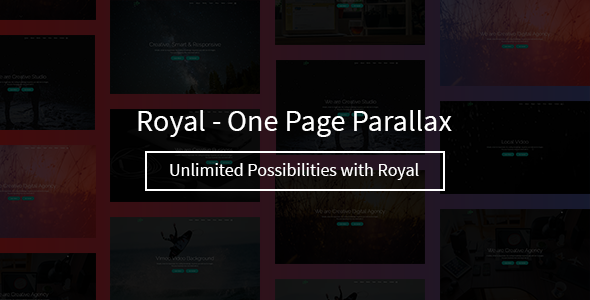 Royal – One Page Parallax