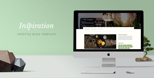 Inspiration — Lifestyle Blog HTML Template
