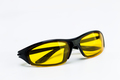 Sunglasses with yellow lenses on a white background - PhotoDune Item for Sale