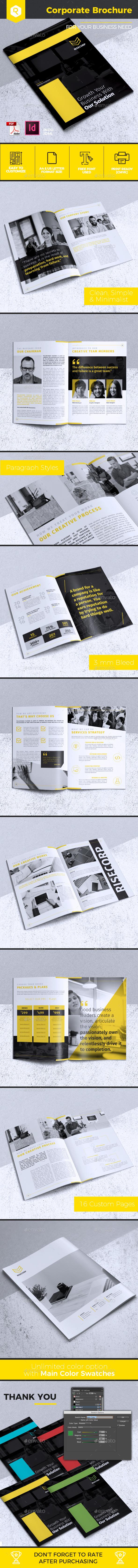 Creative Corporate Brochure Vol. 27 - Corporate Brochures