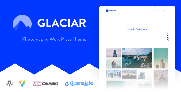 Glaciar - Photography WordPress Theme