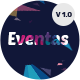 Eventas - High Performance Event WordPress Theme Nulled