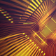 Gold Light Tunnel - VideoHive Item for Sale