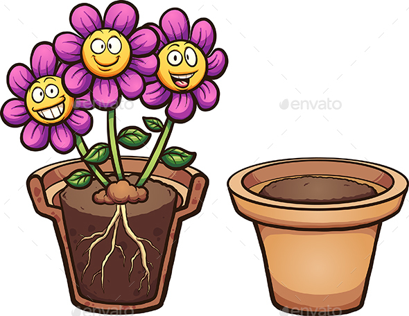 Cartoon Flowers - Flowers & Plants Nature