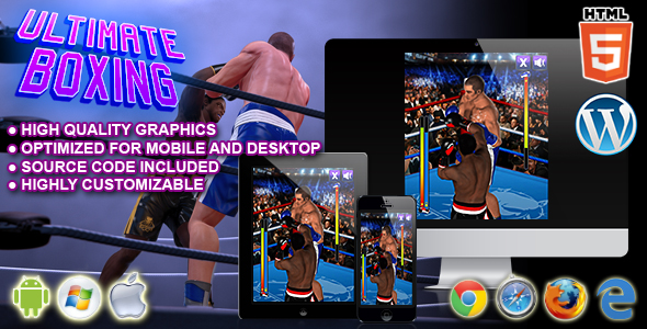 Ultimate Boxing HTML5 Sport Game