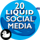 20 Liquid Social Media Lower Thirds - VideoHive Item for Sale