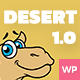 Desert - A Responsive WordPress Blog Theme Nulled