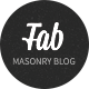 Fabulous - Responsive Masonry Blog WordPress Theme - ThemeForest Item for Sale