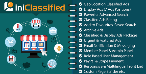 CodeCanyon IniClassified Most Complete GEO Classified Ads CMS 20279178