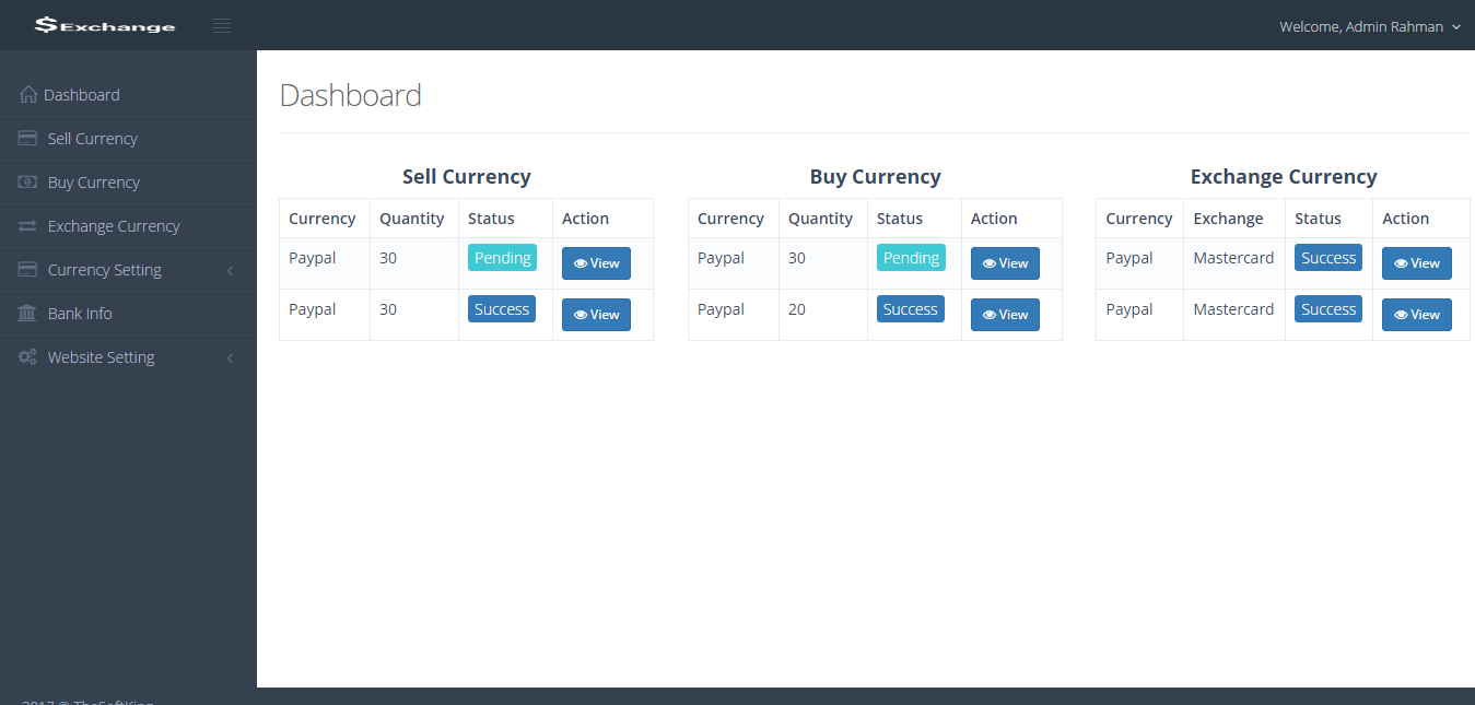 Dollarxchange Currency Exchange Platform