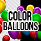 3D Color Matte Party Balloons - VideoHive Item for Sale