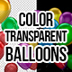 3D Color Transparent Party Balloons - VideoHive Item for Sale