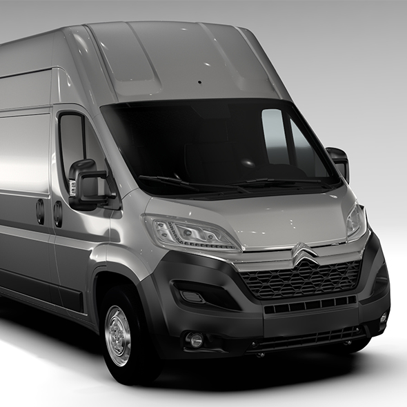 Citroen Relay Van L4H3 2017 - 3DOcean Item for Sale