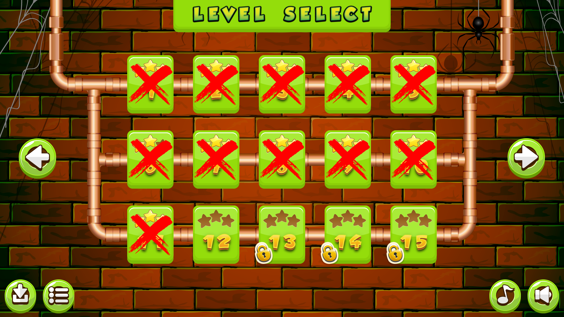 Plumber - HTML5 Game 30 Levels + Mobile Version! (Construct 3 | Construct 2  | Capx)
