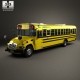 Blue Bird Vision School Bus 2015