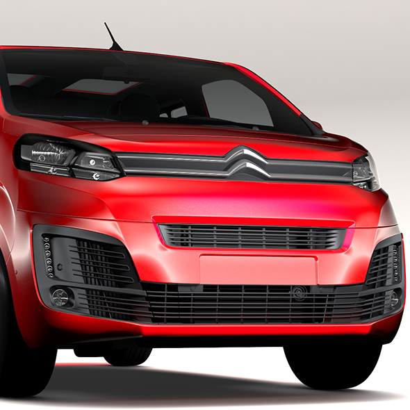 Citroen SpaceTourer L1 2017 - 3DOcean Item for Sale