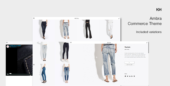 Ambra -  Minimal Marketplace WordPress Theme
