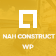 Nah Construction, Building Business WordPress Theme