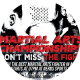 Martial Arts Championship 2K17 Sports Flyer - GraphicRiver Item for Sale