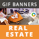 Real Estate Animated Gif Banner Set