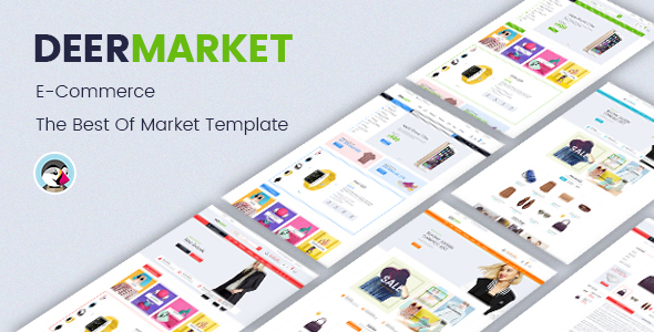 JMS DeerMarket - Multi-Purpose Responsive Prestashop Theme