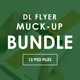 DL Flyer Mockup Bundle - GraphicRiver Item for Sale