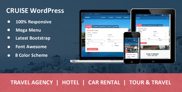 Cruise - Responsive Travel Agency WordPress Theme - Travel Retail