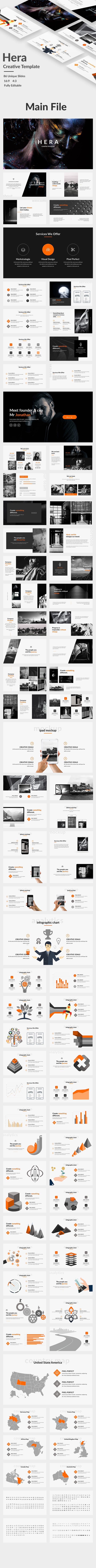 Hera Creative Keynote Template - Creative Keynote Templates