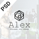 Personal Blog PSD Template Nulled